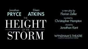 The Height of the Storm, Wyndham's Theatre, London