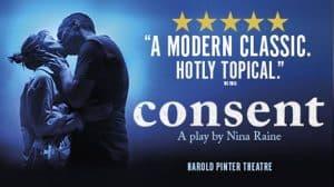 Consent, Harold Pinter Theatre, London
