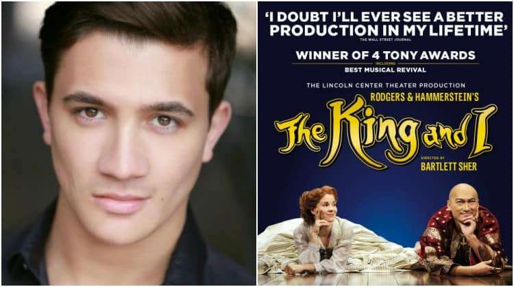 attraktivt pris finaste urvalet bästa valet Aladdin's Dean John-Wilson joins the cast of The King and ILondon ...