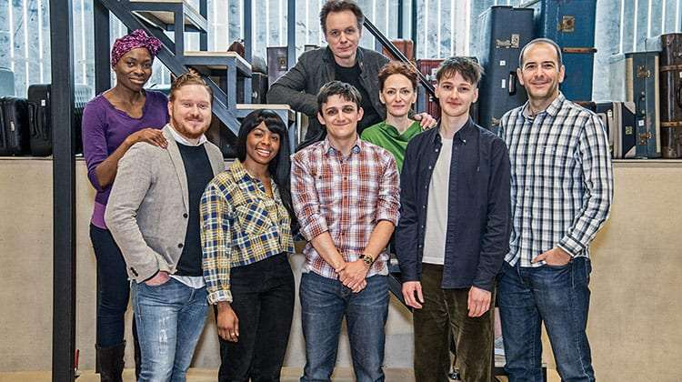 cast photo Harry Potter and the Cursed Child, London 2018