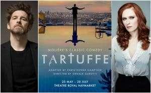Paul Anderson & Audrey Fleurot in Tartuffe