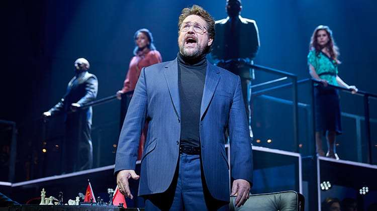 image of Michael Ball in Chess, London Coliseum