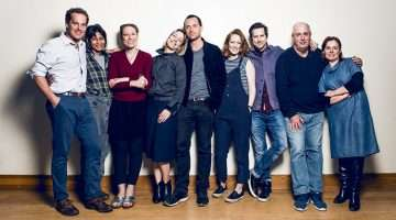 West End cast of Consent, Harold Pinter Theatre