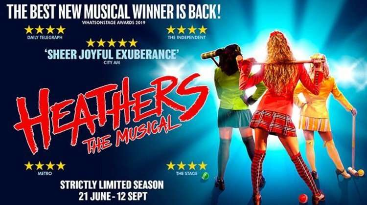 Heathers The Musical artwork