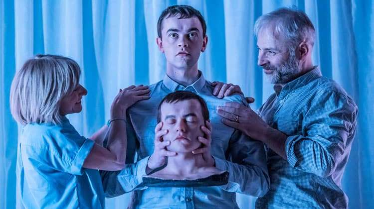 Image Jane Horrocks, Brian Vernel & Mark Bonnar in Instructions for Correct Assembly