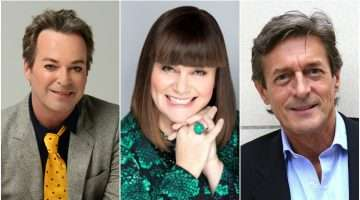 image of Julian Clary, Dawn French & Nigel Havers