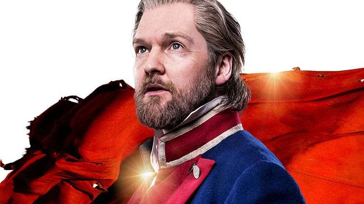 image of Killian Donnelly as 'Jean Valjean' in Les Miserables