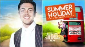 Image of Ray Quinn in Summer Holiday musical
