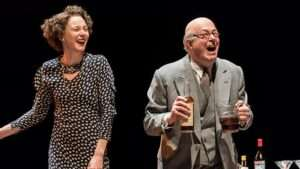 image Nancy Carroll & Roger Allam in The Moderate Soprano