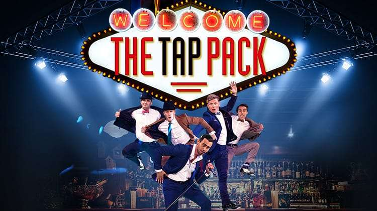 | The Tap Pack at the Peacock Theatre