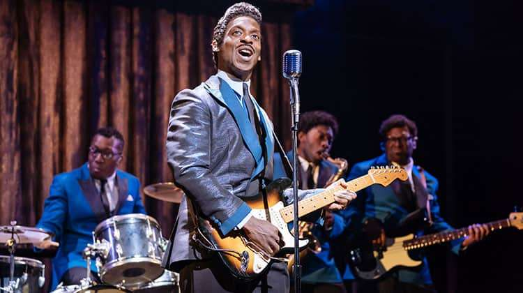 Kobna Holdbrook-Smith (Ike Turner) in Tina Turner Musical, London