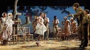 The cast of Tina. Tina Turner Musical, London
