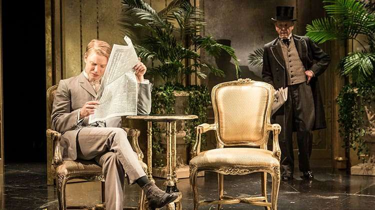An Ideal Husband Review Round Uplondon Theatre Tickets