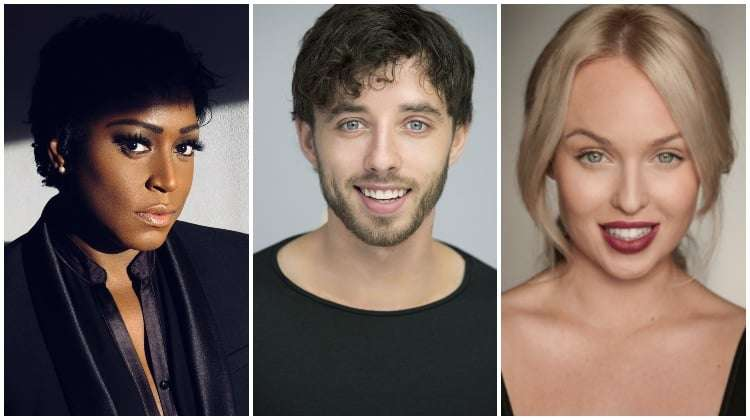 image of Mica Paris, Keith Jack and Jorgie Porter