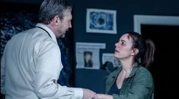 image of Colin Tierney & Jill Halfpenny in The Girl On The Train.