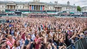 image of Crowds at West End Live 2017