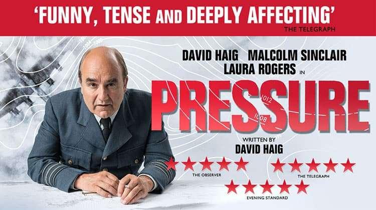 image of Pressure at the ambassadors theatre