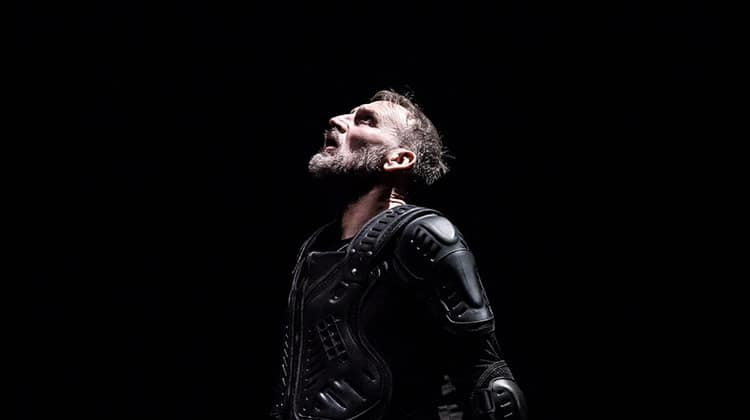 Christopher Eccleston as Macbeth, RSC Barbican, London
