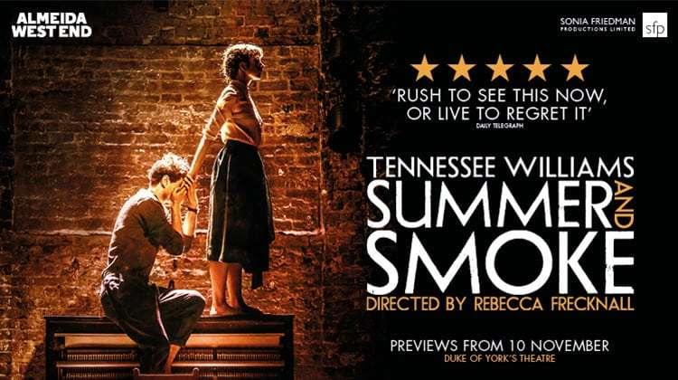 summer and smoke, duke of york's theatre, london