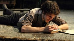 Colin Morgan in Translations. National Theatre, London 2018