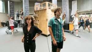 Jemima Rooper and Marc Antolin