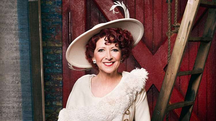 Bonnie Langford as Dorothy Brock in 42nd Street, London
