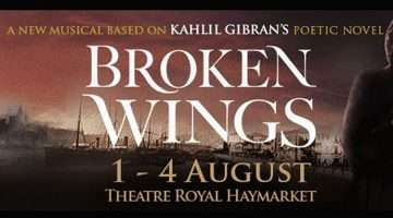 broken wings, theatre royal haymarket