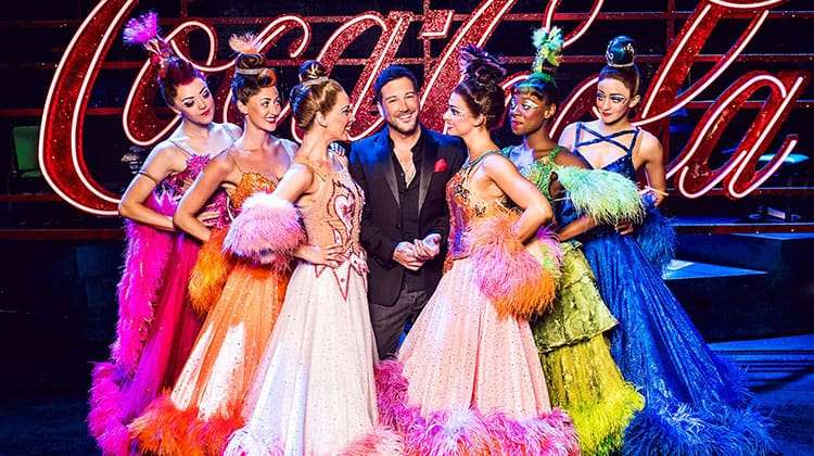 Matt Cardle in Strictly Ballroom, London