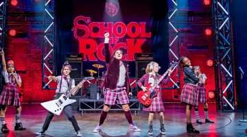 School of Rock The Musical, cast 2018
