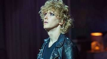 Andrew Polec as Strat in BAT OUT OF HELL THE MUSICAL