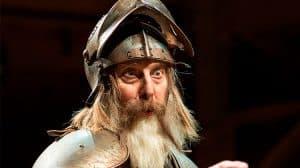 David Threlfall in Don Quixote, RSC 2016.