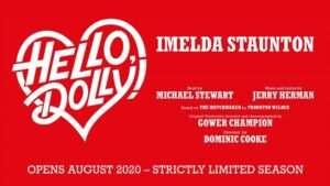Hello Dolly, Imelda Staunton poster artwork