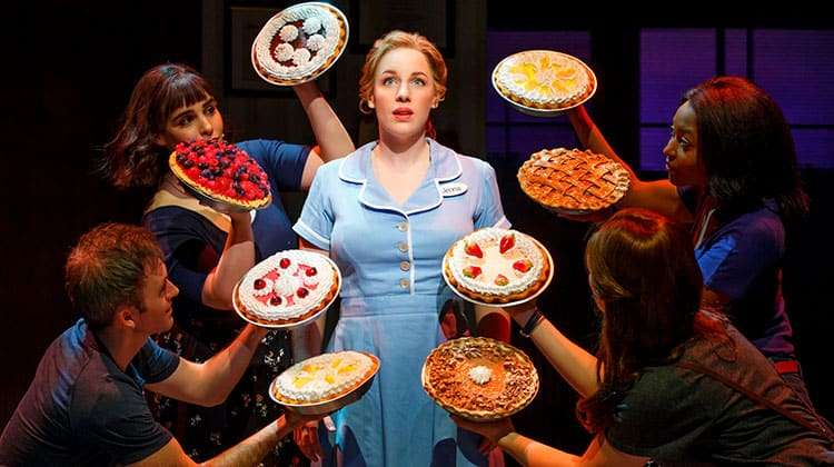 The original Broadway production of Waitress (c) Joan Marcus | Waitress