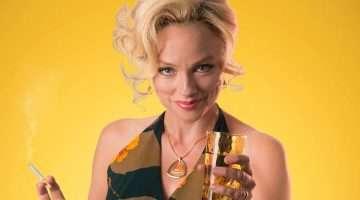 Melanie Gutteridge as Beverly in Abigail's Party