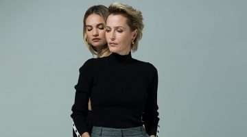 Gillian Anderson & Lily James, All About Eve