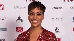 Cush Jumbo at the Stage Debut Awards