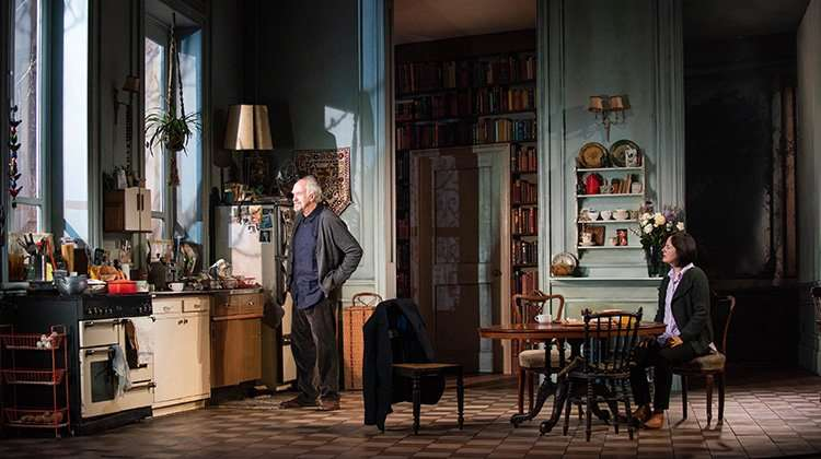The Height of the Storm -  Jonathan Pryce - (c) Hugo Glendinning | The Height of the Storm at the Wyndham's Theatre