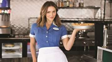 Katharine McPhee as Jenna in Waitress.