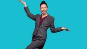 Hayley Tamaddon as Miss Hedge.