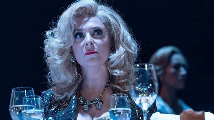 Tracy Ann Oberman in Pinter Six.