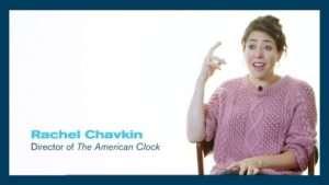 Rachel Chavkin (director) of The American Clock