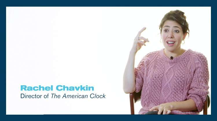 Rachel Chavkin (director) of The American Clock