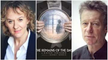Niamh Cusack& Stephen Boxer in The Remains of the Day