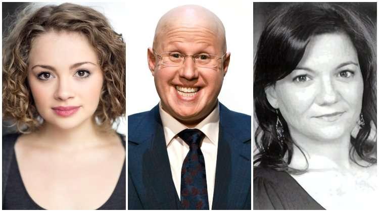 Carrie Hope Fletcher, Matt Lucas & Katy Secombe,