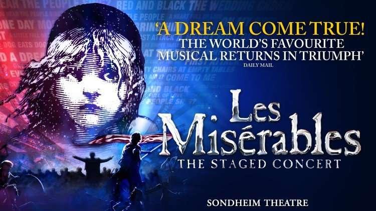 Les Miserables The Staged Concert, London Show