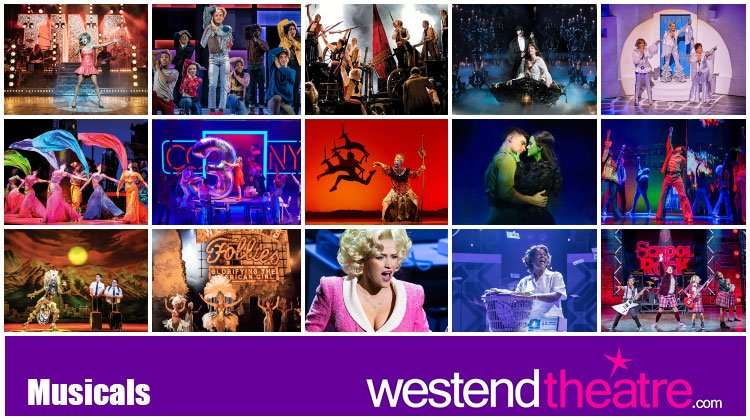 Best London musicals on now