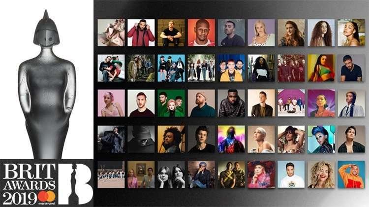 2019 Brit Award nominees