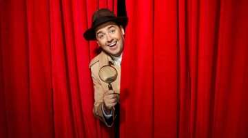 Jason Manford 'Frank Cioffi' in Curtains.