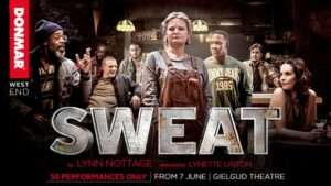 sweat at gielgud theatre