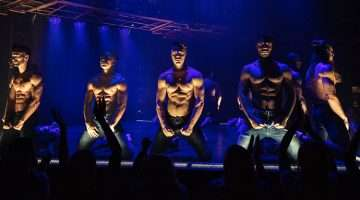 The cast of MAGIC MIKE LIVE (London)
